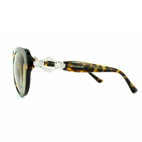 BvlgarI Accessories - Bvlgari 8180B 504/T5 Dark Havana Brown Gradient Po